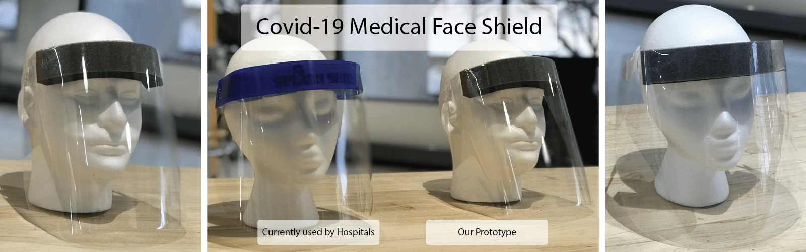 A comparison of the open source Covid-19 medical face shield with the face shield currently used by hospitals