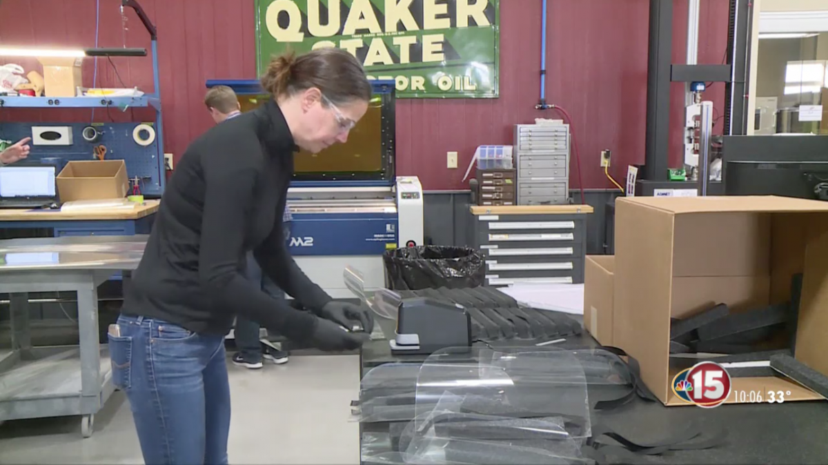 Madison Engineers Develop Face Shield