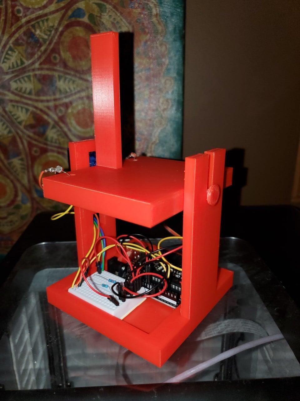 3D Printed Photoresistor Light Tracker