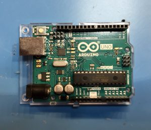 Picture of Arduino Uno circuit board