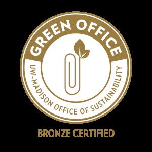 Now Bronze certified Green Office member